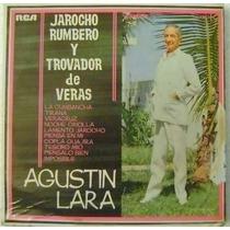 Agustin Lara / Jarocho Rumbero 1 Disco Lp Vinilo