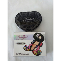 Paleta Jasmyne Kit Maquiagem Profissional - 32 Itens