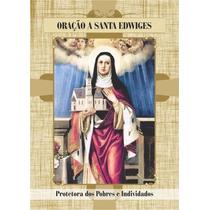 Santinho De Santa Edwiges - Milheiro De Promessa E Oração