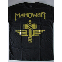 Camiseta Manowar - Sign Of The Hammer - Black Angel