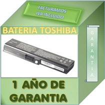 Bateria Para Laptop Toshiba L655-s5147 Garantia 1 Año