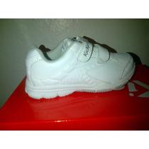 Zapato Kickers Escolares En Blanco Varias Talla