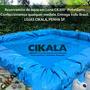 Lona Lago Tanque Criação Peixe Manta Impermeável Rede 8x5 M