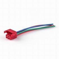 Solenoide / Relay De Arranque Cable Arnes