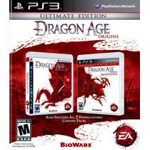 Dragon Age Origins Ultimate Ps3 Nuevo De Fabrica Citygame