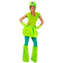 Disfraz De Mike De Monsters University Para Damas, Adultos