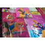 Mantel Servilleta Bolsa Disney Princesas Ben10 Mickey Batman