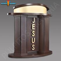 Púlpito Para Igreja Mp 15