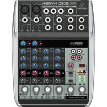Mesa De Som Behringer Xenyx Q802 Usb Mixer - 110 Vac Ms0018