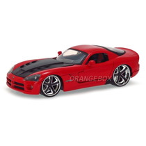 Dodge Viper Srt10 2008 1:24 Jada Toys 96805-vermelho