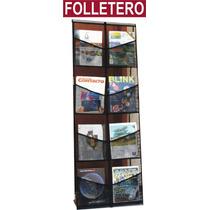 Folletero Reforzado, Folletero Para Tiendas, Pasillos, Etc.