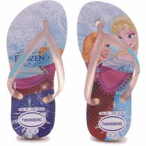 Ojotas Disney Princesas Frozen Havaianas - Mundo Manias