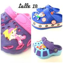 Crocs Infantiles Imperdibles Del 18 Al 29