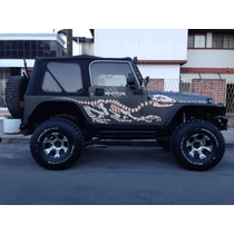 Toldo Suave Jeep Wrangler Nuevo 5ventana Bestop Y Accesorios