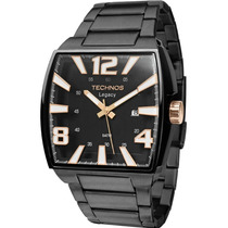 Relógio Technos Masculino Quadrado Legacy Preto 2315abf/1p