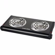 Estufa Electrica Doble Cocción Black & Decker