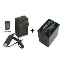 Kit Bateria Np-fv100 +carregador P/ Sony Dcr-sr68 Dcr-sx20