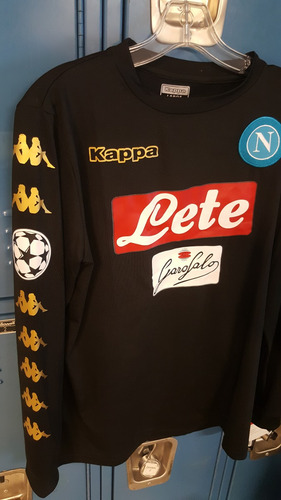 Jersey Napoli Negro Manga Larga - Version Champions League -   799.00 en  Mercado Libre 11ac236b34295