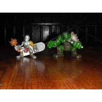 Super Hero Squad Planeta Hulk 2 Figuras