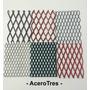Malla Metal Desplegado | 500x30x30 | 2m X 1m | Acerotres