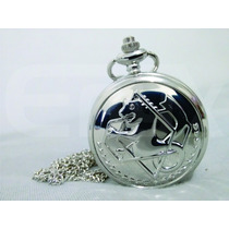 Relógio Fullmetal Alchemist - Cromado - Promoção