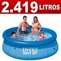 Piscina Inflável Easy Set 2419 Litros Intex - Pronta Entrega