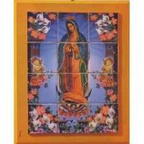 Virgen De Guadalupe En Azulejo