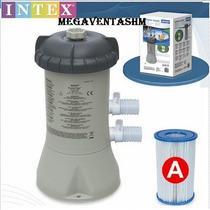 Bomba Filtro Intex Para Piletas De Lona Intex - Pelopincho