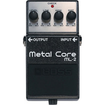 Pedal Boss Ml-2 | Metal Core | Distorção | Para Guitarra