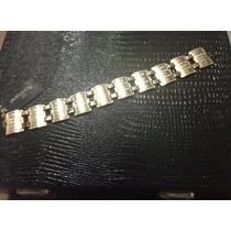 Pulseira Rommanel 10 Mandamento Folheado Ouro 18k.med 18cm