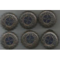 Tampinha Antiga Cerveja Polar 50 Anos- Vedante Plásti S3 P26