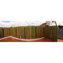 Cañas Bambu Tacuara Panel Al Nudo Cerco 5000 Calificaciones