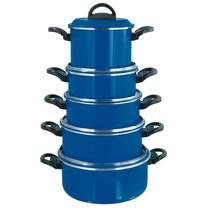 Jogo De Panelas Azul ( Direto De Fábrica)