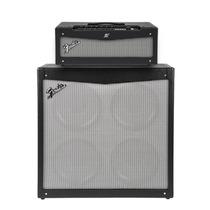Cabeçote + Caixa Guitarra Fender Mustang V