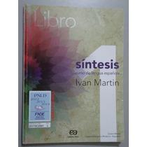 Livro Libro Síntesis Curso De Lengua Española