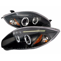 Envío Hoy! Mitsubishi Eclipse 2006 2011 Faros Ojo Angel Led
