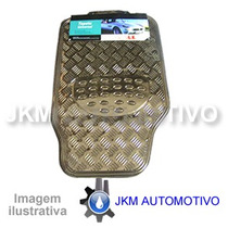Tapete Automotivo Prata Fox, Golf 99/, Jetta - 4pçs