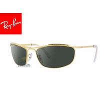 Oculos De Sol Rayban Rb3119-62-001 Olympian Lente Cristal