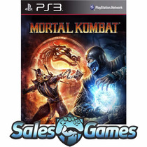 Ps3 - Mortal Kombat 9 Komplete Edition - Via Psn - Português