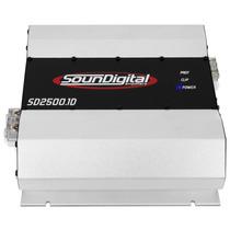 Modulo Amplificador Soundigital Sd 2500w Rms Digital Promo