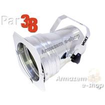 Canhão Refletor Par 38 Já Com Soquete E27 Para Lampada Led
