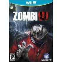 Zumbi U Jogo Nintendo Wii U Novo Pronta Entrega