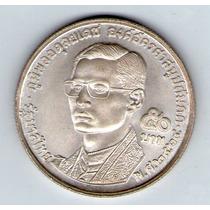 Barese2013 Moneda De Plata De Tailandia 5 Baht