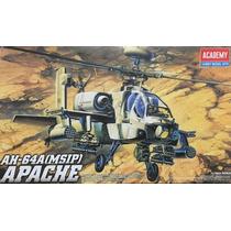Helicoptero Ah-64 A Apache Academy 1/48 Plastimodelismo