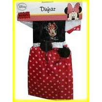 Disfraz Minnie Mouse Disney # P 3-4/# M 6-8 Años Z.devoto