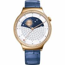 Smartwatch Huawei 44mm Con Zirconia Swarovski Banda Azul