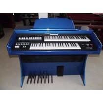 Órgão Yahalom Acr-300 Azul Analógico Curitiba