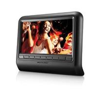Tela Lcd 9 Encosto De Cabeça Mini Tv Banco Carro Dvd Au704
