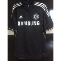 Camisa Adidas Chelsea Third (preta) 2013-2014