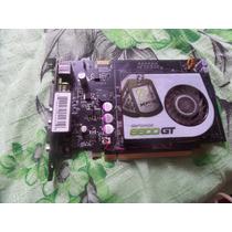 Placa De Video Geforce 8600gt - 512mb - 800mhz Pci Express